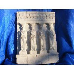 Relief kariatyda-grecka płaskorzeżba Figurki i rzeźby