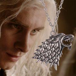Naszyjnik gra o tron -wilk Gry