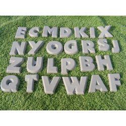 Wszystkie literki alfabetu Akcesoria plastyczne