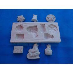 Forma silikonowa -ozdoby świąteczne Akcesoria i narzędzia