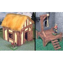 Drewniane deski 160sztuk+ odlewy hirstarts Gry