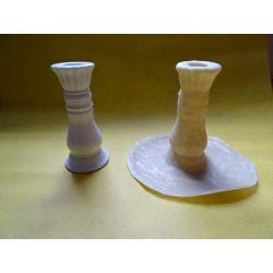 Forma leteksowa świecznik Podłoża, tła i ozdoby