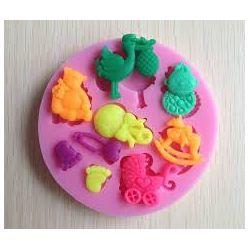 Silikonowa forma do Żywności Figurki i rzeźby