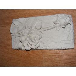 Płaskorzeżba dwie róże Materiały modelarskie