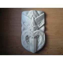 Maska Majów -bardzo duza 19X35cm Zioła