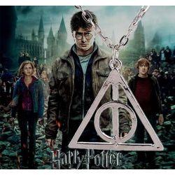 NASZYJNIK INSYGNIA ŚMIERCI Harry Potter Figurki i rzeźby