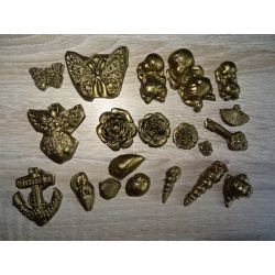 Motyl,bobas,róża,kotwica,klucz Masy do modelowania