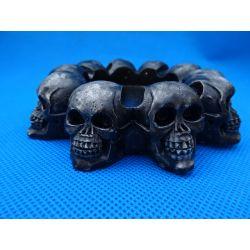 Popielniczka z czaszkami Przedmioty ręcznie wykonane