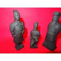 Armia terakotowa-trzy figurki