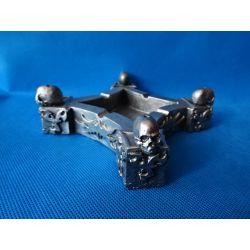 Popielniczka,stojak na kadzidelka z czaszkami Figurki