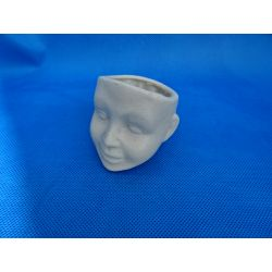 Mini doniczka głowa chlopca Masy do modelowania