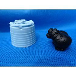 Forma silikonowa-parka Hipopotamów Rękodzieło