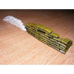 Worki z piaskiem-do barykady 1/35-180 worków Modelarstwo