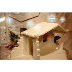 Stajenka betlejemska,szopka Ozdoby świąteczne