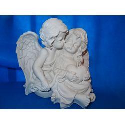 Zakochane aniołki! Ozdoby świąteczne