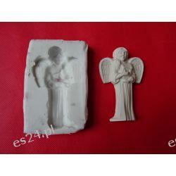 Forma silikonowa -aniołek z harfą Przedmioty ręcznie wykonane