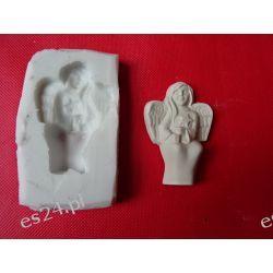 Forma silikonowa aniołek z gwiazdką Przedmioty ręcznie wykonane