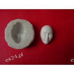 Forma silikonowa -maska