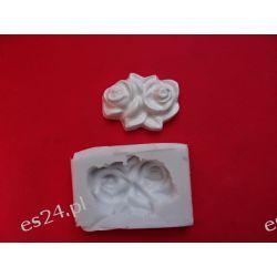 Róże,różyczki-forma silikonowa Przedmioty ręcznie wykonane
