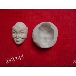 Maska-forma silikonowa Przedmioty ręcznie wykonane