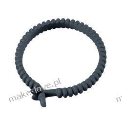 Marc Dorcel Adjust Ring - silikonowy pierścień na penisa o regulowanym obwodzie