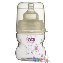 Samosterylizująca butelka do karmienia Lovi 150 ml BPA 0%...