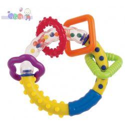 Grzechotka Canpol - kolorowe kulki dla najmłodszych dzieci - idealna jako pierwsza grzechotka...