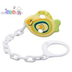 Łańcuszki do smoczków Baby Ono Rybka dla aktywnych dzieci...