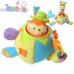 Edukacyjne zabawki BabyOno Biedronka z wibracją...