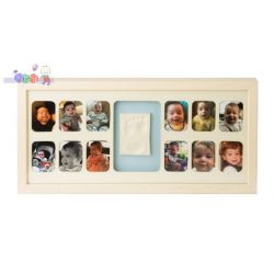 Ramka na 12 zdjęć Mój Pierwszy Roczek Baby Memory Prints - biała...