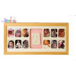Ramka na 12 zdjęć Mój Pierwszy Roczek Baby Memory Prints - naturalna...