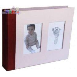 Pamiętnik niemowlaczka Baby Memory Prints - różowy...