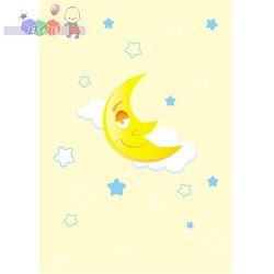 Dziecięce kocyki akrylowe 80 x 100 cm BabyOno Premium - księżyc...