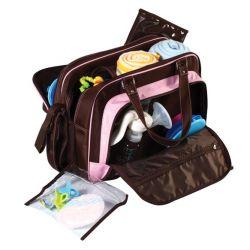 Wielofunkcyjna torba spacerowa Babyono - idealna w podróży i do wózka...