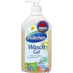 Żel do mycia dla niemowląt Bubchen doskonały do codziennego mycia wrażliwej skóry 400 ml...