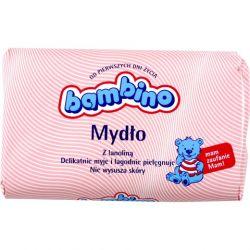 Mydło toaletowe Bambino dla dzieci i niemowląt delikatnie myje i pielęgnuje 100g...