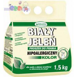 Ekologiczny i hipoalergiczny proszek do prania Biały Jeleń 1,5 kg - kolor...