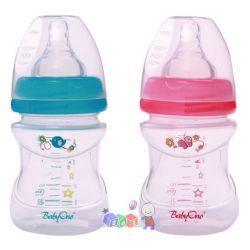 Butelka antykolkowa szeroka do karmienia dzieci BabyOno 120 ml bez BPA...
