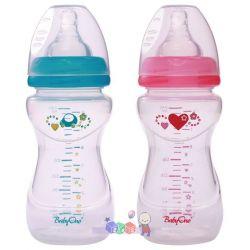 Butelka antykolkowa szeroka do karmienia dzieci BabyOno 240 ml bez BPA...