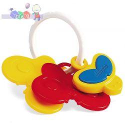 Zabawka motylek, zabawka z pozytywką Chicco...