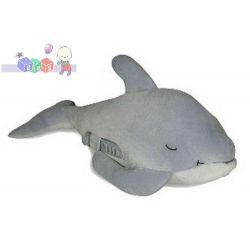 Przytulanka śpiący delfin z pozytywką - spokojny sen Twojego dziecka...