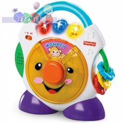Uczący grający muzyczny zegar Fisher Price...