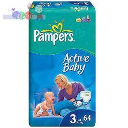 Jednorazowe pieluszki Pampers 4-9 kg...