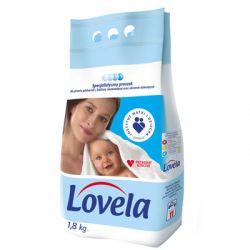 Proszek do prania dla niemowląt biały Proszek  Lovela 1,8kg...