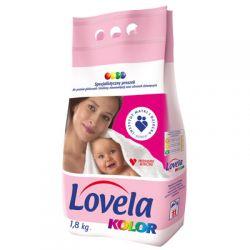 Proszek do prania kolor dla niemowląt bez fosforanów 1,8kg Lovela...