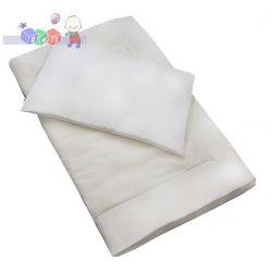 Kołderka i poduszka - wypełnienie antyalergicze 135x100 ...