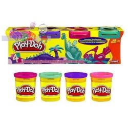 Play-Doh ciastolina 4 tuby - różne kolory...