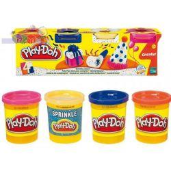 Play-Doh ciastolina 4 tuby - kolory uzupełniające...