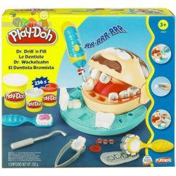 Zestaw małego dentysty Play-doh - ciastolina i narzędzia dentystyczne...