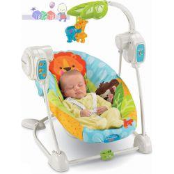 Huśtawka dla dziecka od urodzenia do 9 kg Cudowna Planeta Fisher Price...